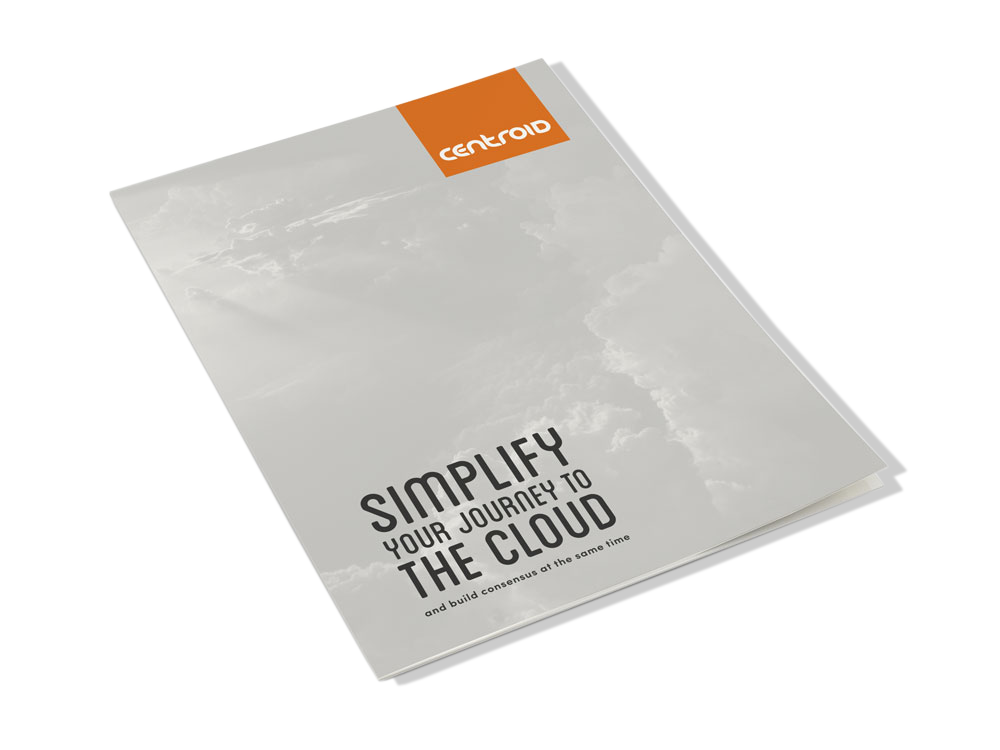 simplify your journey to the cloud and build consensus book cover
